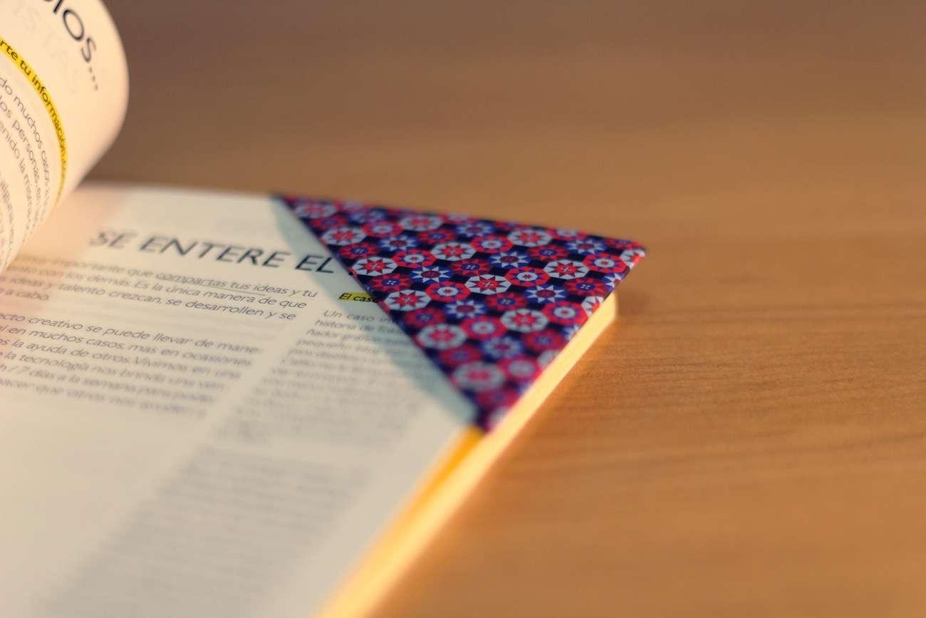 diy origami - como hacer un marcapáginas con papel
