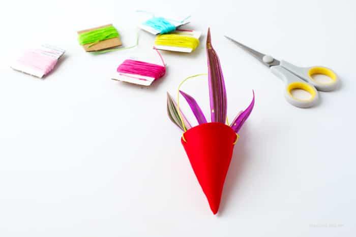 material DIY para crear miniaturas macetas colgantes