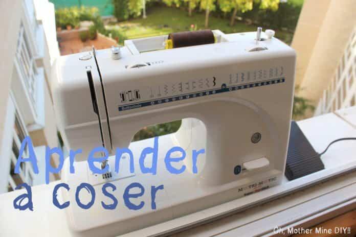 aprender a coser con una máquina de coser automática
