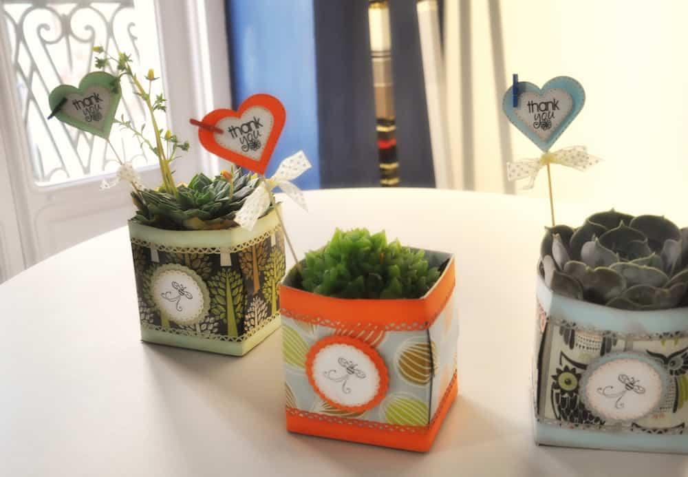 Cajas de carton recicladas con scrapbooking ayuda para - Cajas para manualidades ...