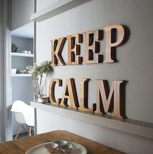 Letras decorativas ayuda para manualidades - Letras de madera decorativas ...