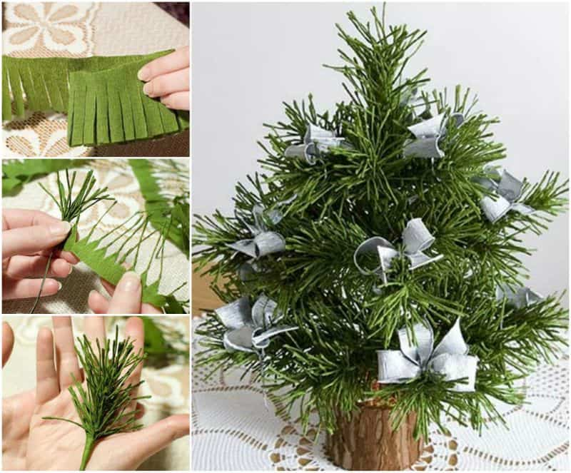 árbol navideño de mesa