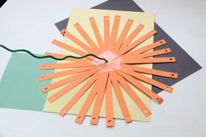 calabaza con papel 6