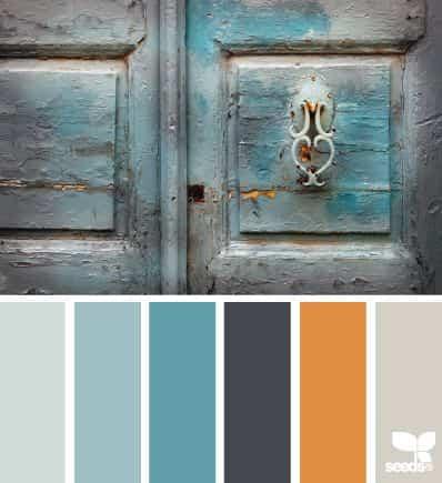 Pintar puertas exteriores con colores de moda - Colores para puertas ...