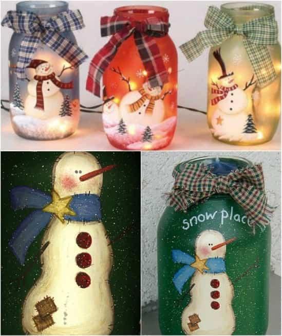 decoracion tarro navidad 1