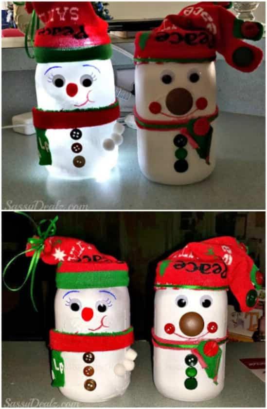 decoracion tarro navidad 8