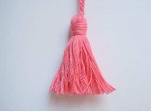 Borla de lana para hacer en casa paso a paso - Como coser cortinas paso a paso ...