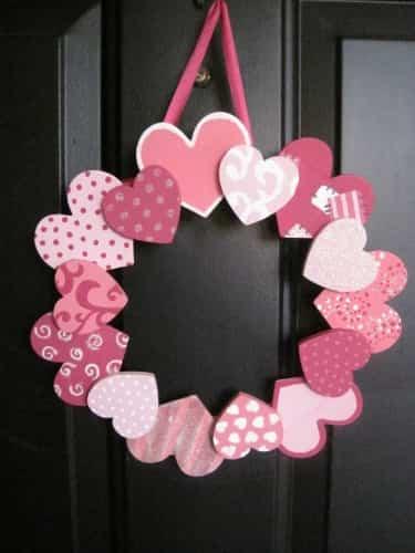 Guirnalda para San Valentín