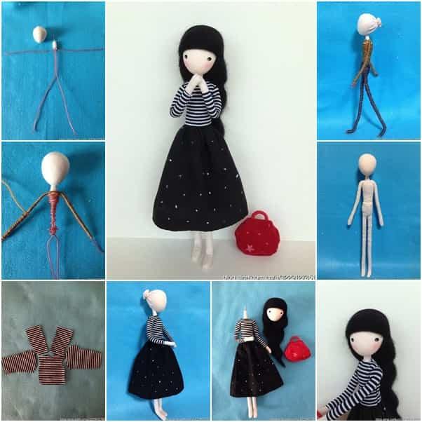 muñeca con alambre 1