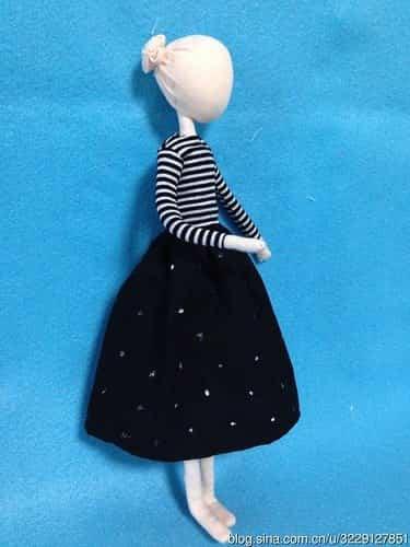 muñeca con alambre 8