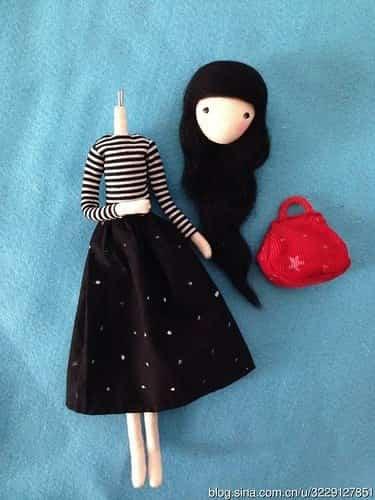 muñeca con alambre 9