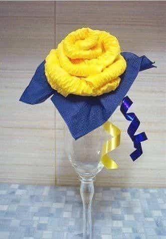 rosas hechas de papel 10