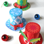 Confeccionar mini sombreros