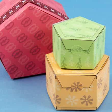 Crear una caja