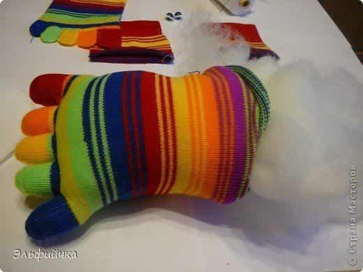 almohada calcetin 4