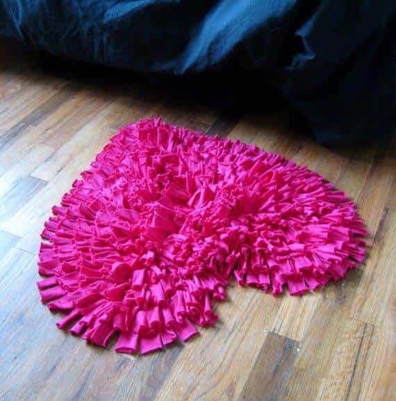 alfombra baño casera 2