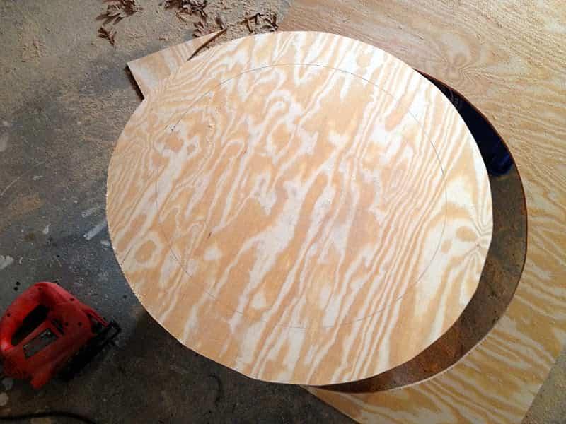 espejo decorado con madera 10