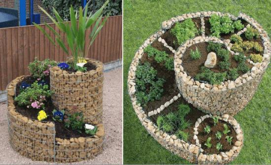 15 proyectos diy para decorar tu jard n ayuda para - Como decorar mi jardin con piedras y plantas ...