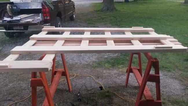 cama litera con madera reciclada 2