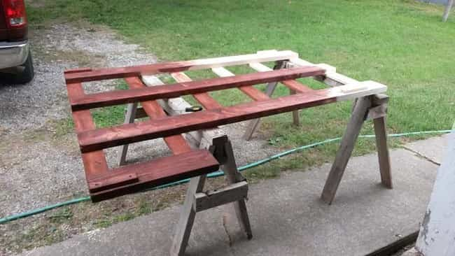cama litera con madera reciclada 3