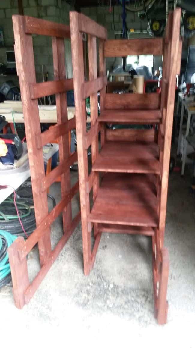 cama litera con madera reciclada 4