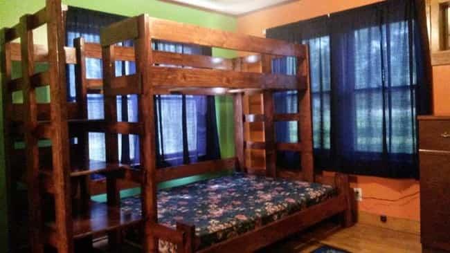 cama litera con madera reciclada 5