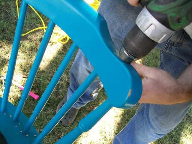 columpio silla 8