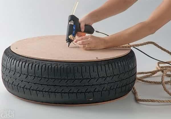 puf rueda reciclada 4