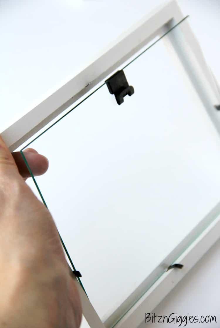 Ideas para un cuadro de vidrio