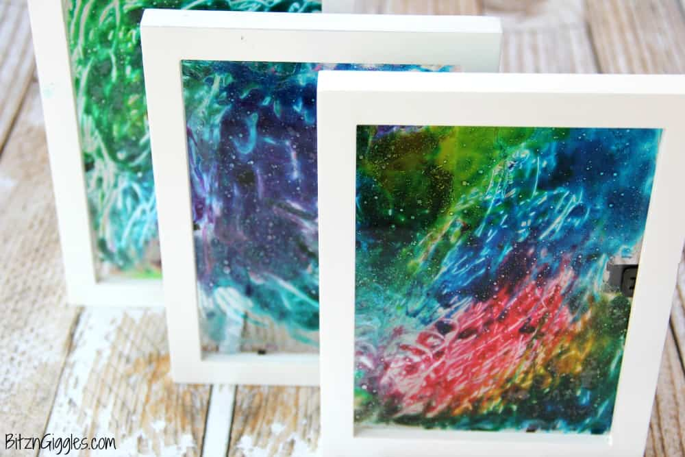 Como crear un alegre cuadro de vidrio