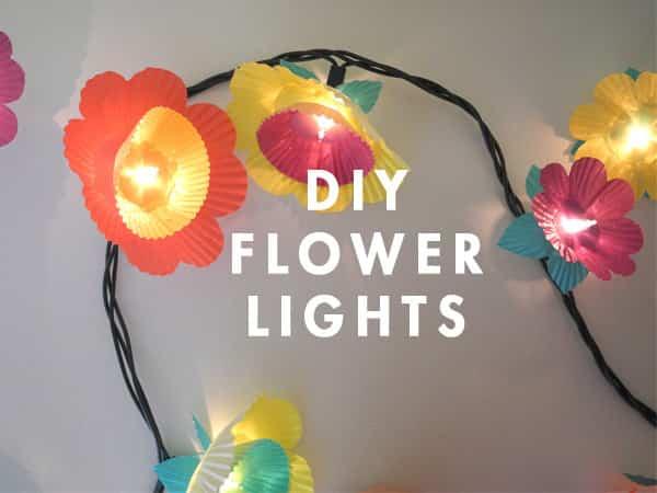 decorar un cumpleaños con luces