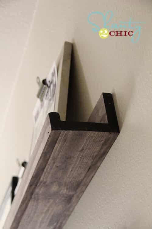 Crear estante de madera