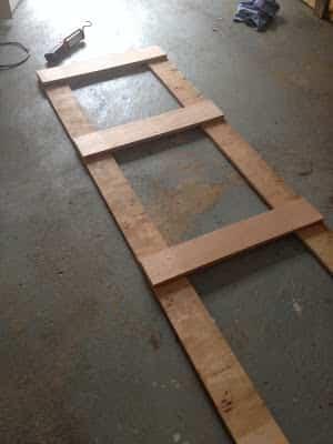 Crear un cartel de madera