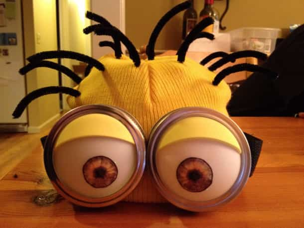 Un disfraz para los  fanáticos de los Minions