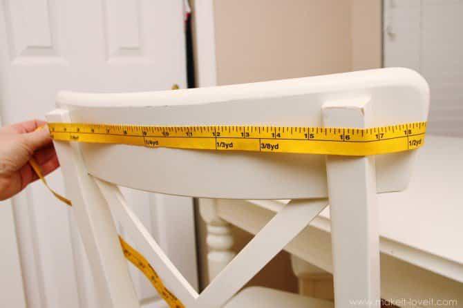 Confeccionar fundas de sillas
