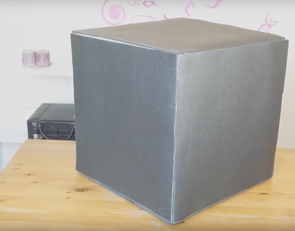 Puff con forma de cubo de rubik no te lo pierdas for Puff cuadrados