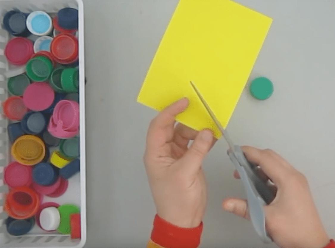 Hacer sellos caseros con cosas recicladas