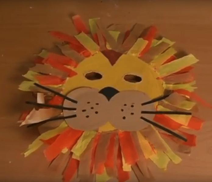 Hacer una máscara de león para carnaval
