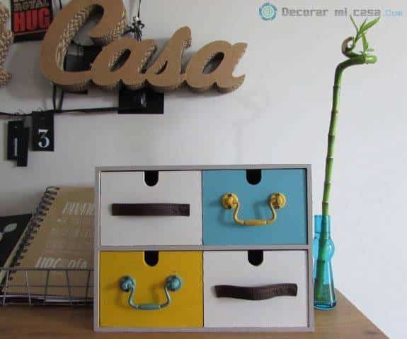 7 ideas diy para decorar mi casa ayuda para manualidades for La casa de las cajoneras