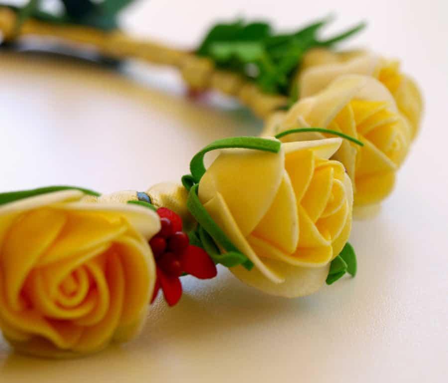 Flores de goma Eva dos tutoriales con sus paso a paso