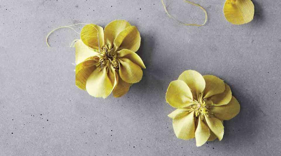 flores de tela paso a pas copia