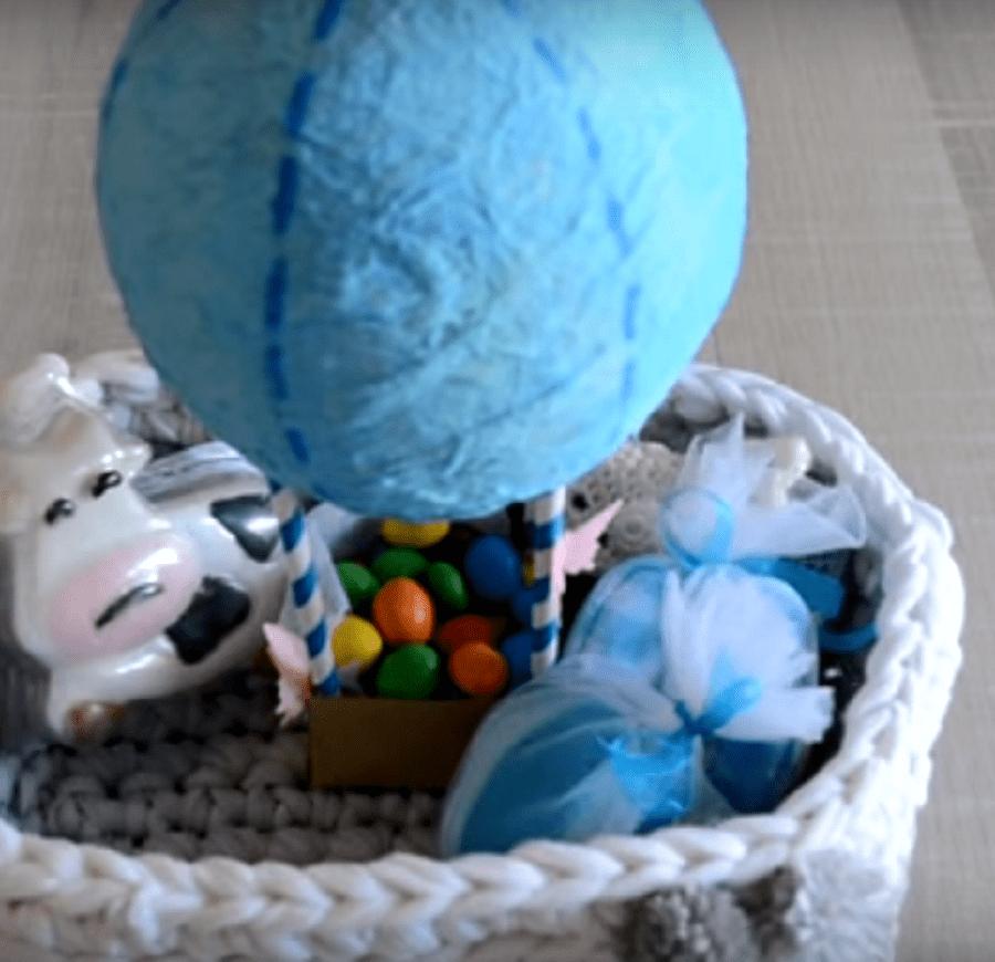 globo aerostático casero