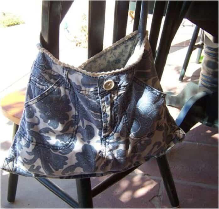 bolsos vaqueros reciclados