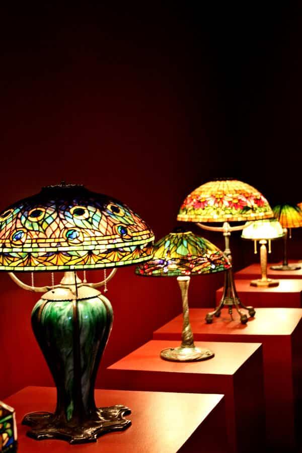 hacer una lámpara Tiffany