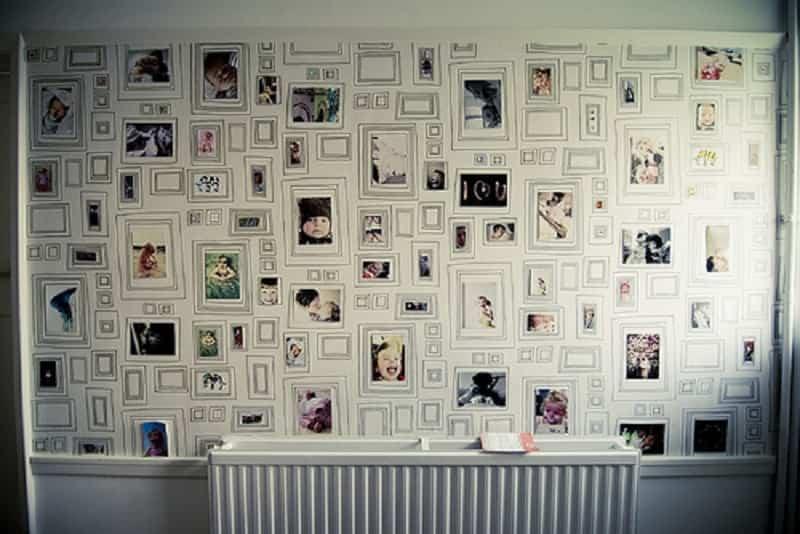 decoración de paredes con fotos