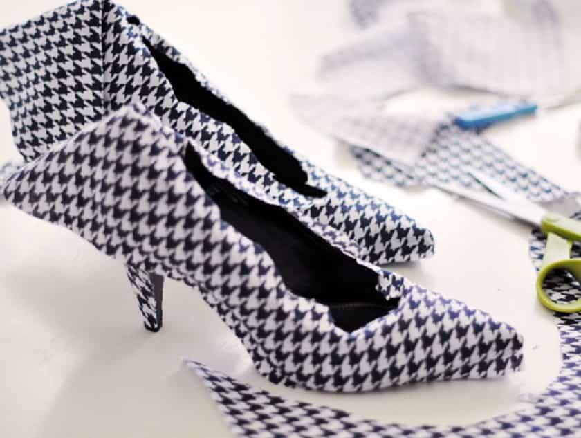 forrar zapatos