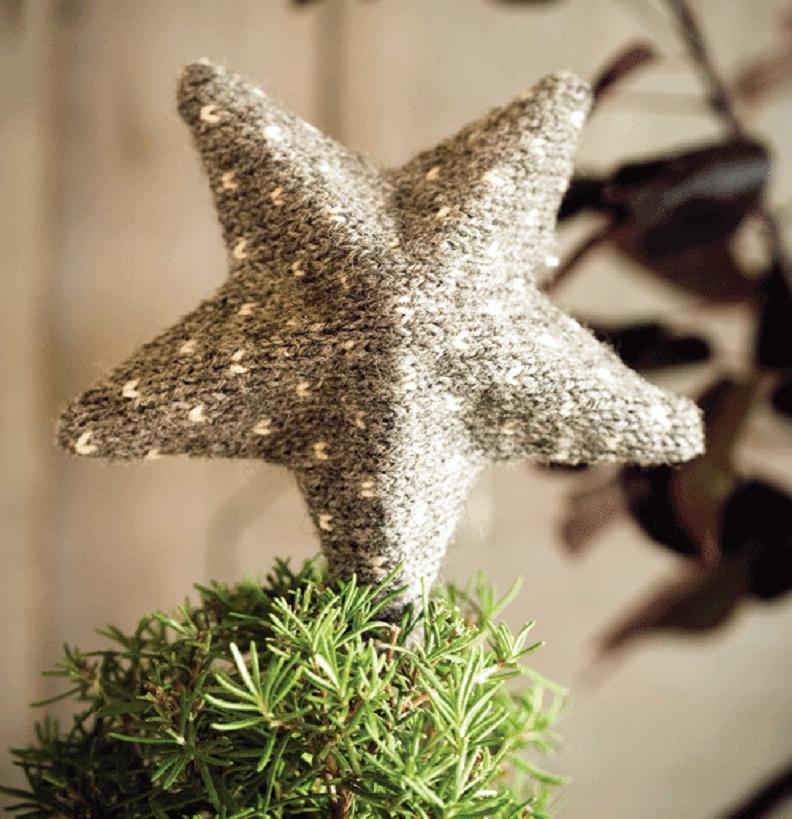 estrella de Navidad para el árbol