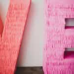 decorar letras en 3D