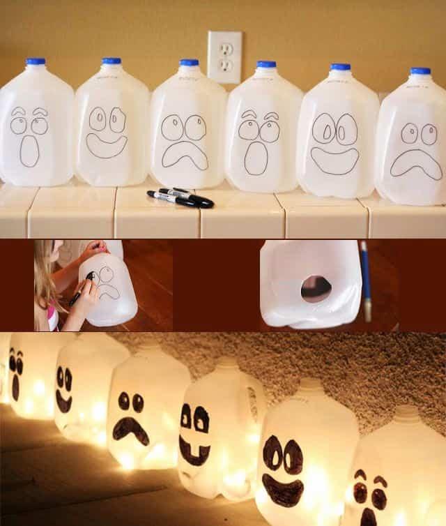 divertidas decoraciones para Halloween