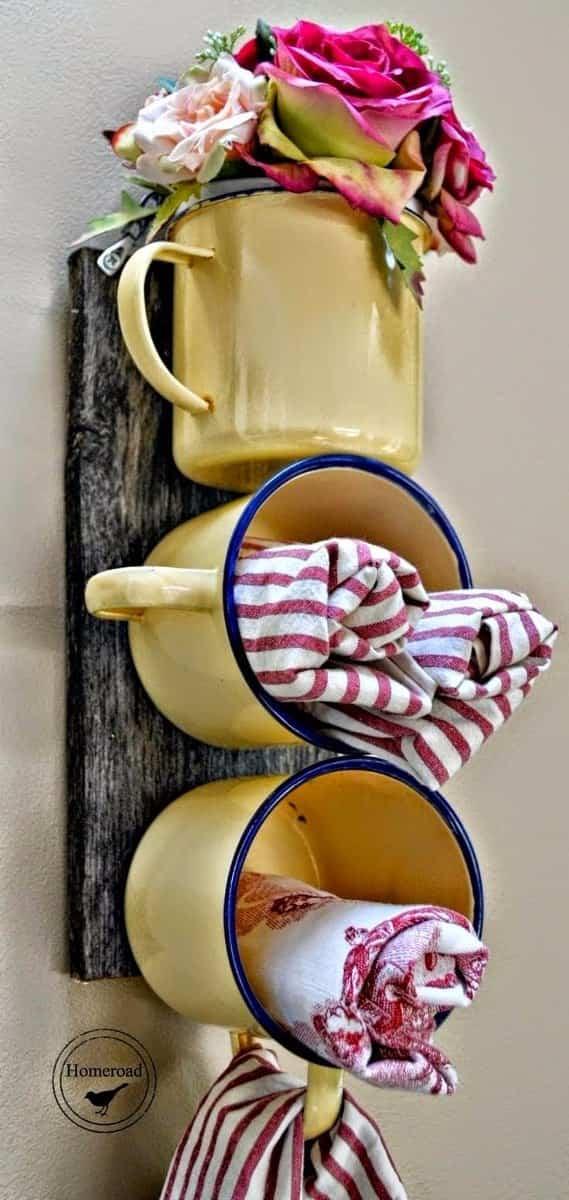 renovar los paños de cocina